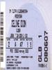 Céline Dion concert ticket