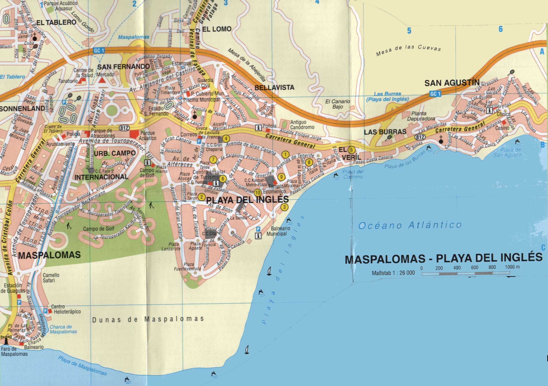 kanarieöarna san agustin karta City maps. Stadskartor och turistkartor   Travel Portal kanarieöarna san agustin karta
